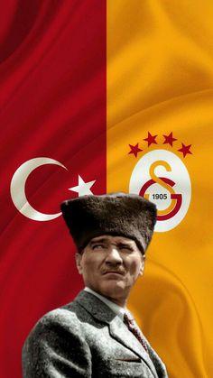 #atatürk #bayrak #galatasaray