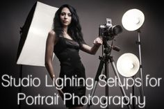 Studio Lighting Setups for Portrait Photography http://photodoto.com/studio-lighting-setups-portrait-photography/