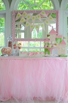 Love the ideas used for this party! Some may work for Jocsy's. My favorite is the pink rice treasure dig!