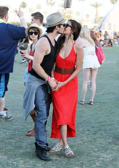Confirmed! Ian Somerhalder and Nina Dobrev Are Dating and in Love)))