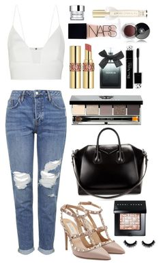 """""""Nigz"""" by xxtraceyxx on Polyvore featuring Topshop, Narciso Rodriguez, Valentino, Givenchy, Yves Saint Laurent, Bobbi Brown Cosmetics, Torrid, NARS Cosmetics, Victoria's Secret and Chanel"""