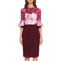 d41d429cf90a Buy Ted Baker Tzalva Porcelain Rose Bodycon Dress