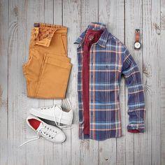 "400 Me gusta, 4 comentarios - VoTrends® Men's Fashion (@votrends) en Instagram: ""Ready for a rugged weekend : @matthewgraber"""