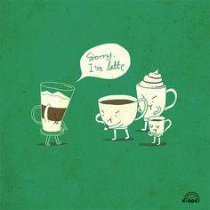 Coffee humor.
