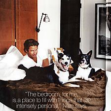 Nate Berkus and his dogs - Dogsized