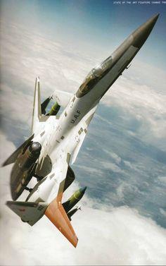 ♂ to the air skiesofdeception: ADFX-01 Morgan (in Wingman...