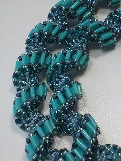 Perlenzauber: Spiralkette: Verdrehte Tila-Beads