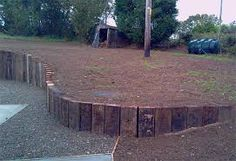 Image result for vertical railway sleepers