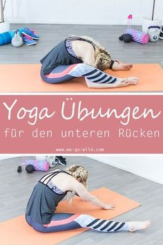 Yoga for back pain is not difficult to perform. The gentle stretching … - Fitness Workout Yoga Fitness, Fitness Workouts, Ab Workouts, Pilates Workout, Yoga Pilates, Pilates Reformer, Ashtanga Yoga, Esprit Yoga, Hata Yoga