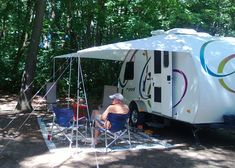 Awning Made From Ripstop Tarp And Keder Rope Took About A