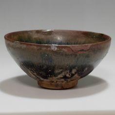 TENMOKU CHAWAN Antique Chinese Jianyao Pottery Small Tea Bowl #2134 - ChanoYu online shop