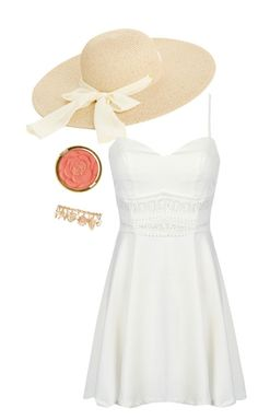 """""""Pure Summer"""" by veerarosita on Polyvore featuring Oasis, Milani and Forever 21"""