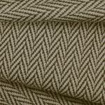 Roughewn Upholstery in Carbon is an eye-catching zig-zag tweed. This classic pattern is perfect for interior design and is only $16.73 per yard.  61% polyester, 34% cotton, 5% linen with a width of 54″. Passes 30,000 cycles Martindale test.