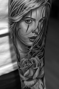 This has to be one of the best black and gray tattoos I have ever seen