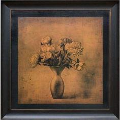 Phoenix Galleries Fragrant Peonies Canvas Transfer Framed Print - BH67260-C