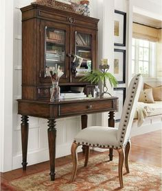 Aniston Desk And Hutch - traditional - desks - Pottery Barn