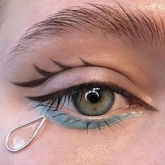 Aesthetic Makeup Looks Cute Makeup Trends, Makeup Inspo, Makeup Art, Beauty Makeup, Hair Makeup, Makeup Ideas, Smokey Eyes Anleitung, No Eyeliner Makeup, Eyeshadow