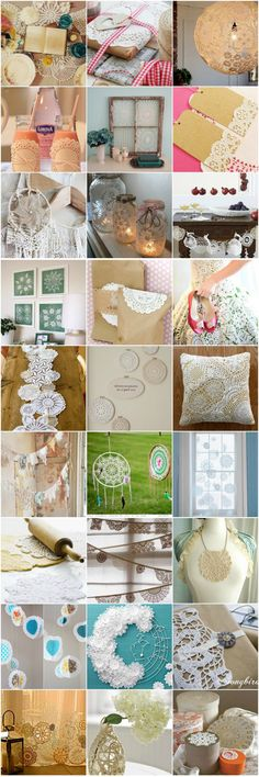 Doily Craft Projects 2