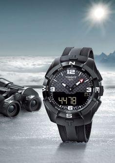 Tissot T-Touch Expert Solar Rolex Watches, Watches For Men, Tissot T Touch, Cute Baby Animals, Casio Watch, Vintage Watches, Gq, Outdoor Gear, Smart Watch