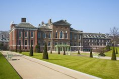 Kensington Palace, former home of Princess Diana, and now home of the Duke & Duchess of Cambridge (William & Kate)