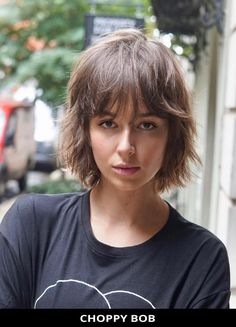 Ask for this super-flattering choppy bob that's totally trending right now! Learn what stylists have to say about this look and the rest of these 49 most tempting and new choppy bob hairstyles for a refreshing new look. // Photo Credit: @nunzio_nyc on Instagram Choppy Bob Hairstyles, Latest Hairstyles, Choppy Cut, Textured Bob, Cut And Style, Bob Cut, Photo Credit, New Look, Hair Cuts
