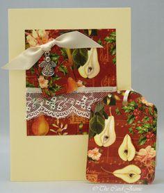 Handmade Christmas Card - Christmas Angel £2.50