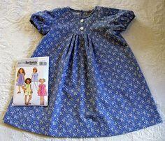 February:  Blue Floral short sleeved dress by Dark Spinner, via Flickr