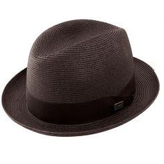 695702ead3a01 Dobbs Parker - Straw Fedora Hat