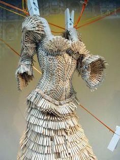 Harvey Nichols London Clothespin Dress 2010