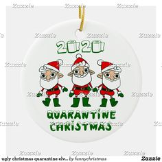 Funny Xmas Gifts, Ugly Christmas Sweater, Elves, Being Ugly, Messages, Ceramics, Ornaments, Holiday, How To Make