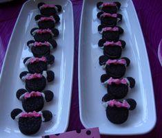 MINNIEMOUSE theme- cute food and skirted highchair