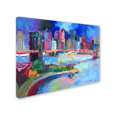 'Brooklyn' by Richard Wallich Canvas Art