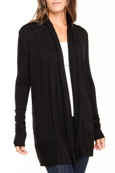 Ariella Beluga Duster ~ yes, I do believe this article of clothing and I could happily cohabit..............