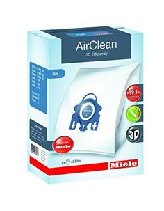 Miele 10123210 AirClean 3D Efficiency Dust Bag Type GN 4 Bags  2 Filters * Check this awesome product by going to the link at the image.