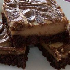 Cream Cheese Peanut Butter Brownies