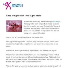 Eat this Superfruit to Lose Weight! Easy with this! Lose Weight, Weight Loss, Lost, Fruit, Loosing Weight, The Fruit, Loose Weight, Weigh Loss
