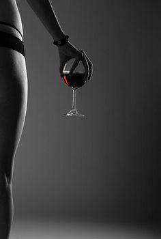 Sexy wine photo