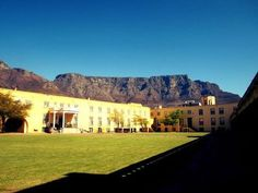 """""""Table Mountain taken from the Castle of Good Hope""""  from our Facebook fan Charné who has entered this into our competition. It's open to all, come visit our Page! #sightseeing #capetown #heritage"""