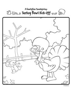 Use these free coloring pages to teach children about giving thanks