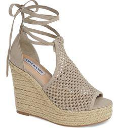 97e19434121 Steve Madden Sure Platform Wedge Sandal (Women)
