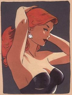 Philippe Berthet is a French comic book and pinup artist with a signiature, traditional, vintage style. In 1994, Berthet launched the retro series 'Pin-Up' with writer Yann at Dargaud. The series, about 1940's and 1950's model Betty Page, was an homage to Milton Caniff and his comic 'Male Call'.