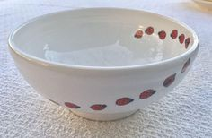 Fiesta® Dinnerware LADYBUG Collection made exclusively for Dillard\u0027s by Homer Laughlin China Company. Includes 9 \  Luncheon Plate Rice Bowl and T\u2026 ... & Fiesta® Dinnerware LADYBUG Collection made exclusively for Dillard\u0027s ...