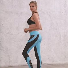 Women s Fashion Workout Leggings Fitness Sports Gym Running Yoga ... a5b0a7f4ae8