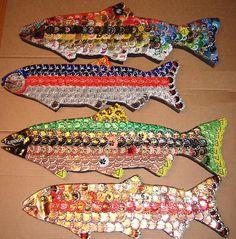Bottle cap fish