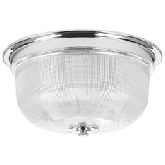 Fresnel Glass Dome Flush Mount Ceiling Light