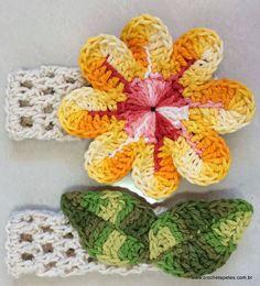 Die 189 Besten Bilder Von Blumen Crochet Flower Patterns Crochet