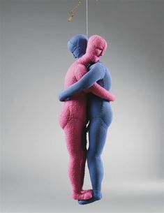 Louise Bourgeois, Couple, 2004 — fabric.