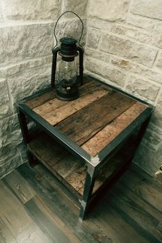 ~reclaimed wood table: