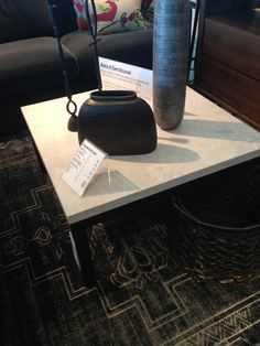 Parsons square table at crate and barrel