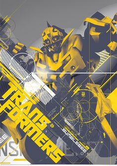 Transformers: Revenge of the Fallen Style Guide by Vojtech Dvorak, via Behance